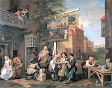 An Election Canvassing for Votes-William Hogarth