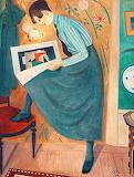 Einar Jolin, Ung dam läsande konsttidskrift, 1919