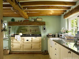 ^ English country kitchen
