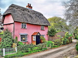 ^ Pink cottage, Essex England
