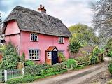 ^ Pink cottage, Essex England