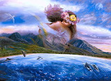Adam-Eve-paintings-sun-sea-forest-paintings-HD-free-download