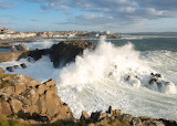 Portstewart Harbour Wave