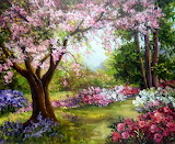 Spring Garden ~ Anca Bulgaru