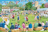 May Day Village Celebrations - Trevor Mitchell