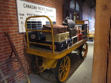 CP Railroad Baggage Cart