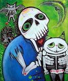 Sugar Skull & Cat