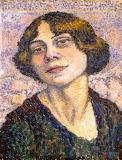 Lucie Cousturier, Autoportrait, 1905-10