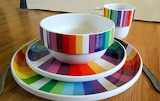 Colourful dishes