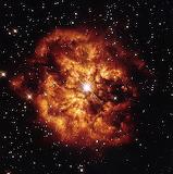 Hubble's fireball, NASA ESA, Nebula M1-67, Star Hen 2-427