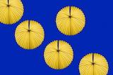 yellow Chinese lanterns