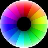 Color rainbow circle 01