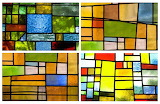 Collage- Stained glass