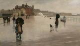 The Rain by Norman Garstin, Penzance 1889
