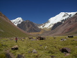 Argentinië San-Juan Valle-Colorado-en-Cerro-Mercedrio