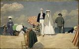 René Xavier Prinet, La plage de Cabourg, 1910