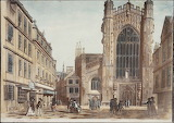 Bath Abbey by Thomas Malton