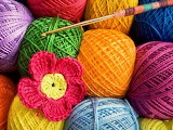 Crochet with lots of color