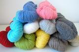 A pile o'yarn!