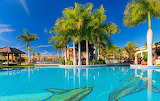 Spain Resorts Tenerife Canary Islands Pools Palms 546910 1280x80