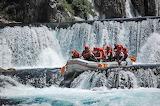 Rafting, stream, rapids, dinghy, people, sports, Croatia