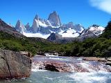 Argentinië Santa-Cruz Andes