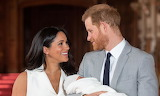Prince Harry and Meghan Markle with son Archie Harrison