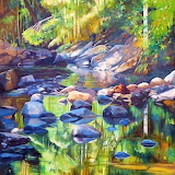 Main Emerald Reflections by Susan Skuse