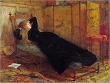 Sir William Quiller Orchardson, Dolce far niente, 1872