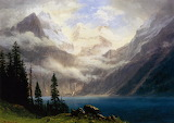 Mountain 1879 by Albert Bierstadt