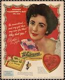 Elizabeth Taylor Candy Ad
