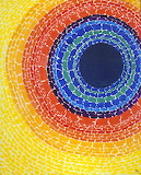 Abstract Expressionism - Alma Thomas - The Eclipse