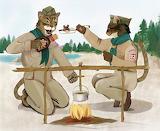 Cat-scouts-bbq-sauce