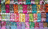 Bright, Colorful Scarves