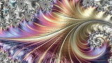 Delicate fractal landscape