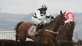 Moscow Flyer and Barry Geraghty 2005 Champion Chase