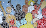 Colorful People Mosaic