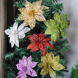 New-10pcs-Loose-Powder-Hollow-Christmas-Decorations-for-Hom