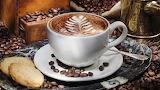 Capuchino café y biscochitos