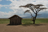 Africa Tanzania Bush Hut