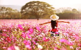 Kids-children-childhood-girls-joy-happy-spring-nature-landscapes