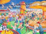 Fairground Rides - Linda Birkinshaw