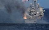USS Sullivans after SM2 mishap