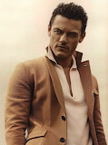Luke Evans photoshoot