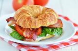 ^ BLT Ranch Croissant Sandwich
