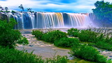 473819-nature-landscape-trees-forest-plants-waterfall-long expos
