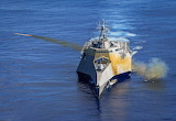 LCS firing new Naval Strike Missile