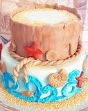 Beach bum's cake @ Sweet Cake Simona