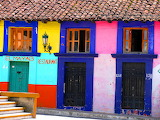 Chiapas-colored house