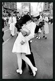 Eisenstaedt's most recognized photo-VJ Day, NYC 1945